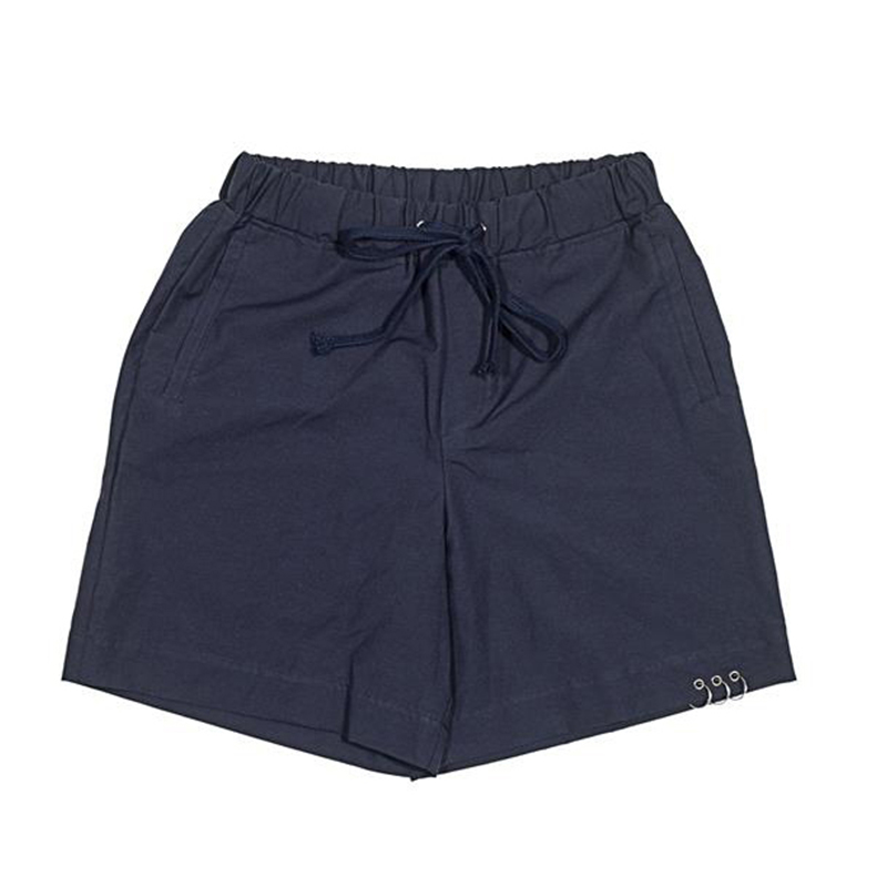 [OVERR] ESSAY.1 THREE RING NAVY SHORT PANTS