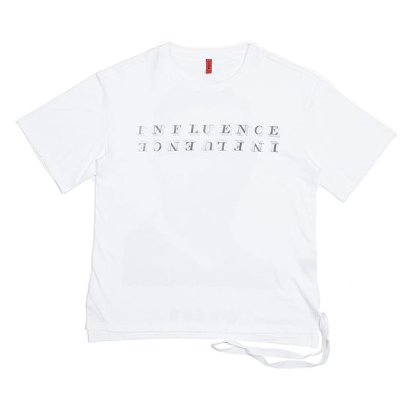[OVERR] ESSAY.1 INFLUENCE WHITE TEE