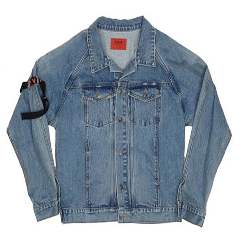 [OVERR] ESSAY.2 BELT WASHING DENIM JACKET