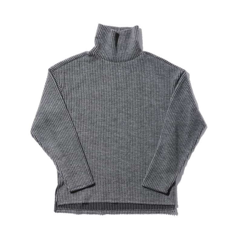 [OVERR] TOME.4 HALF NAPPING GRAY TURTLENECK