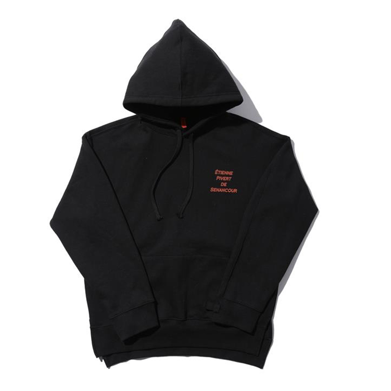 [OVERR] TOME.4 SENANCOUR BLACK HOODIE