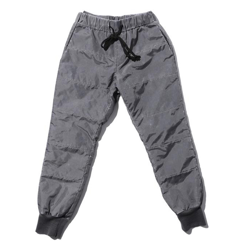 [OVERR] TOME.4 PIGMENT GRAY PADDING PANTS