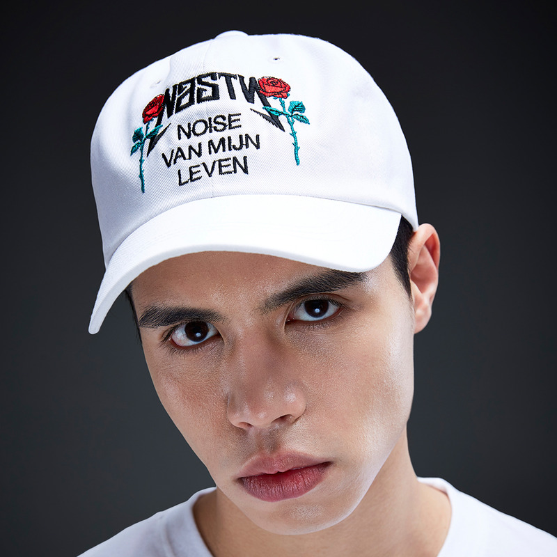 [NYPM] NASTY ROSE CAP (WHT)