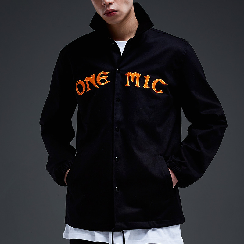 [NYPM] ONEMIC COACH JACKET (BLK)