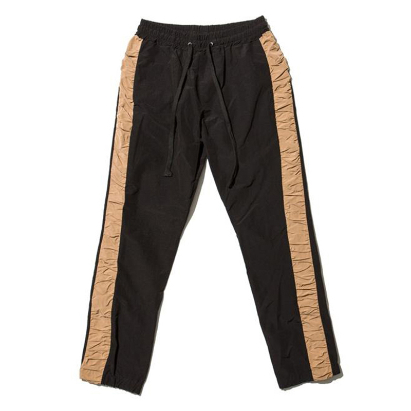 [OVERR] 17S/S SHIRRING BLACK PANTS
