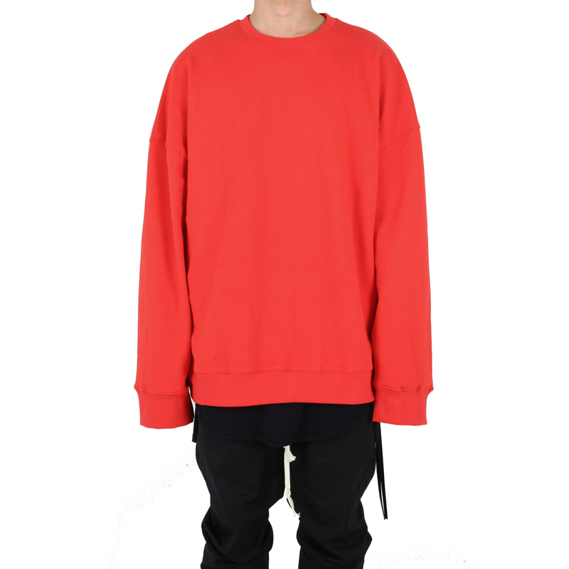 [XSACKY] CREWNECK MTM (CHERRY RED)