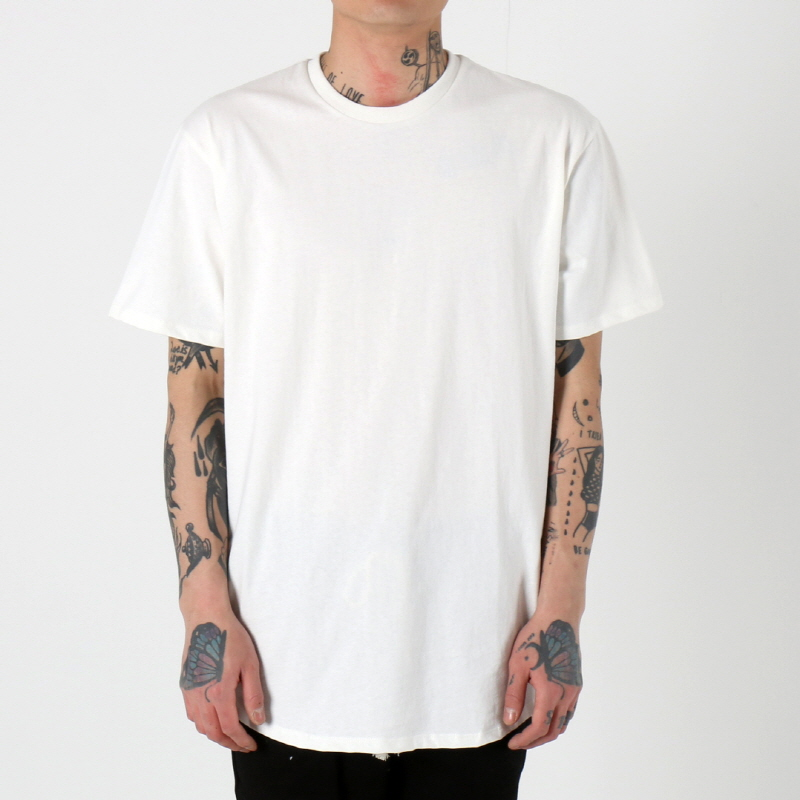 [$ SHOP SALE] [EPTM] SUPER HEAVY COTTON OG LONG TEE (WHITE)