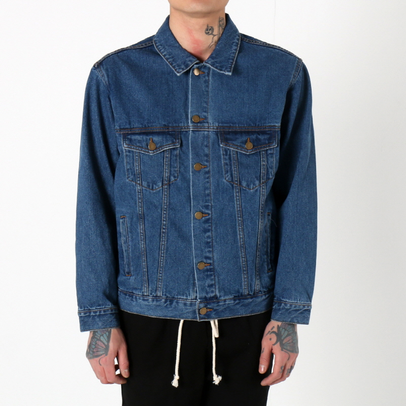 [$ SHOP SALE] [EPTM] DENIM JACKET (NAVY BLUE)