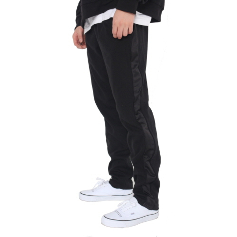 [FADE6] LINE SWEAT PANTS BLACK