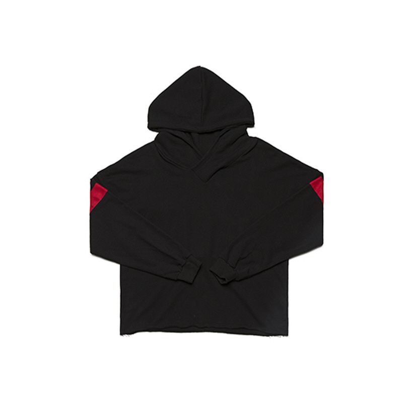 [WANTON] Vol.1 V HOODY BLACK