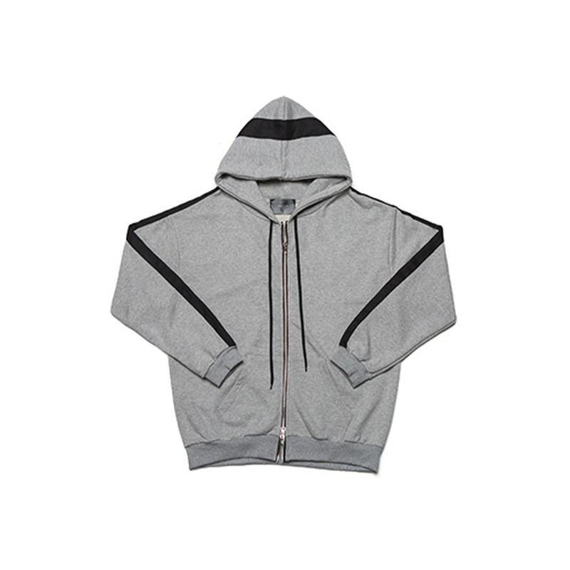 [WANTON] Vol.1 ZIP-UP HOODY GREY