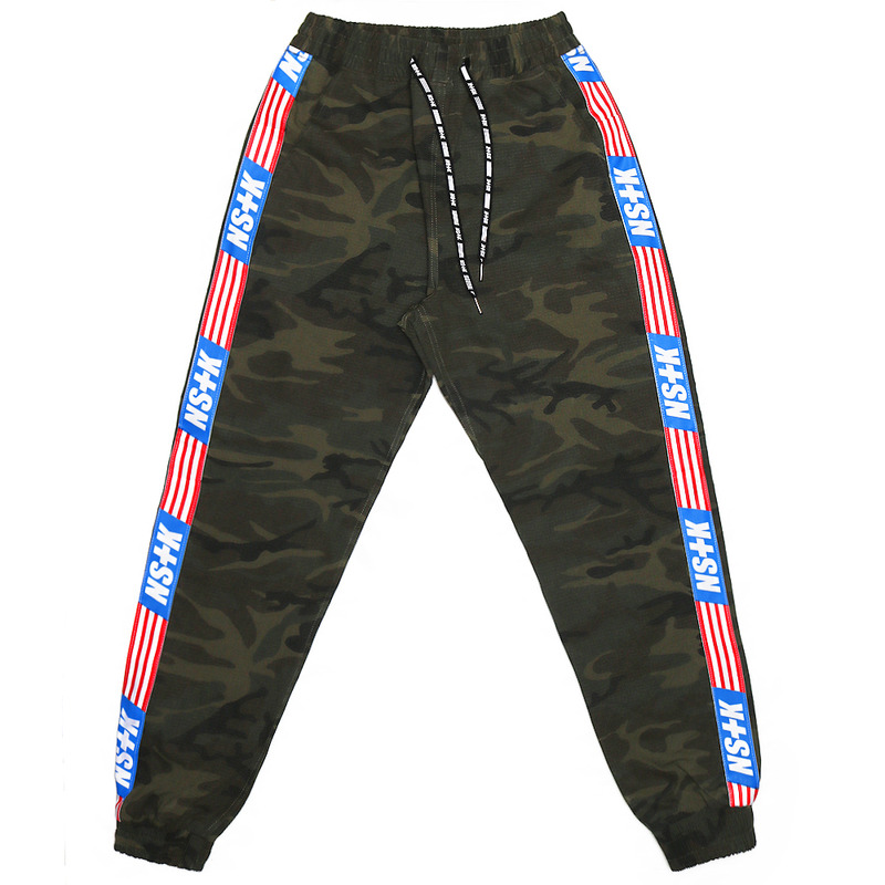 [NSTK] NASTY UNION JOGGER PANTS (CAMO)