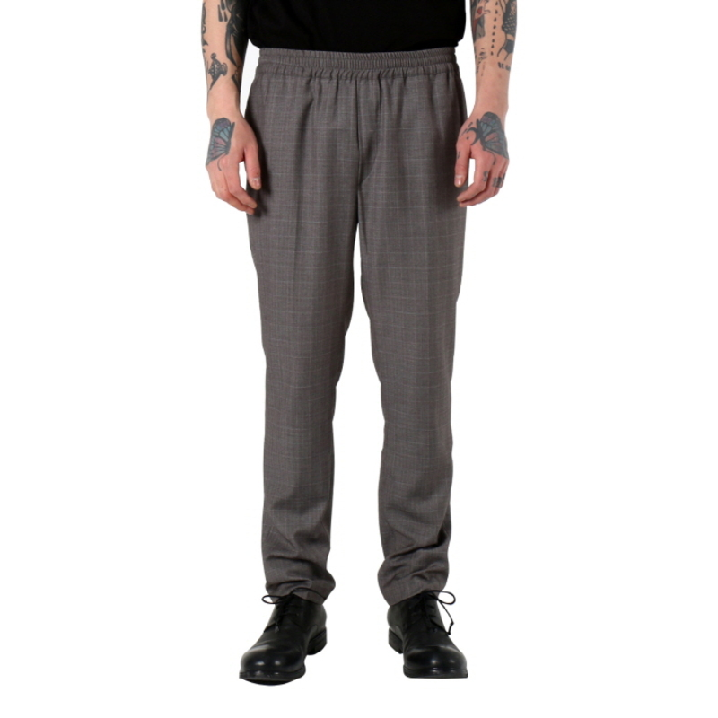 [쿠드그라스 연말 FINAL SALE] [NEIGE] SLIM FORMAL TROUSERS (GREY)