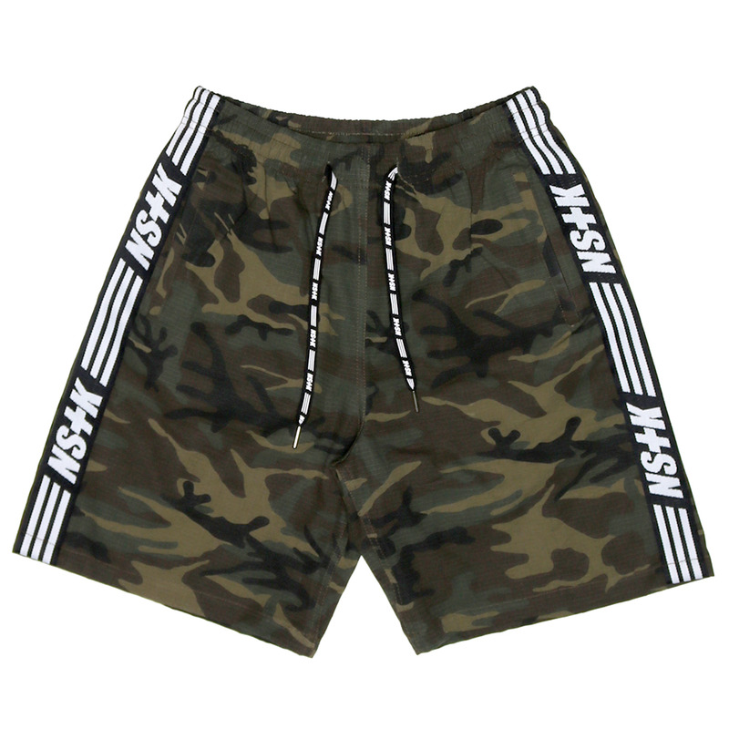 [2018 SUMMER SALE] [NSTK] NSTK LINE SHORTPANTS (CAMO)
