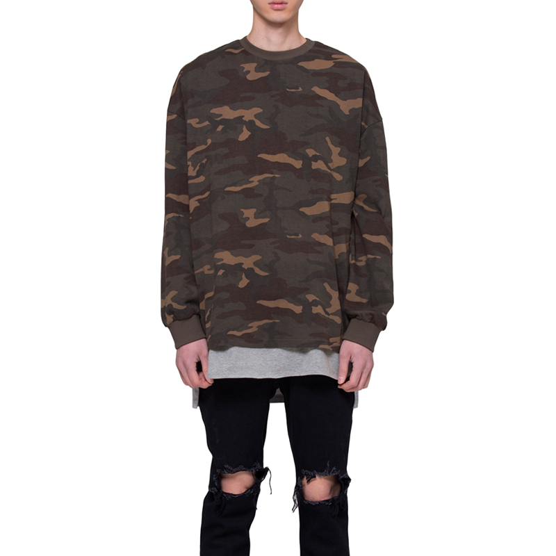 [RCNP] CAMOUFLAGE T-SHIRT