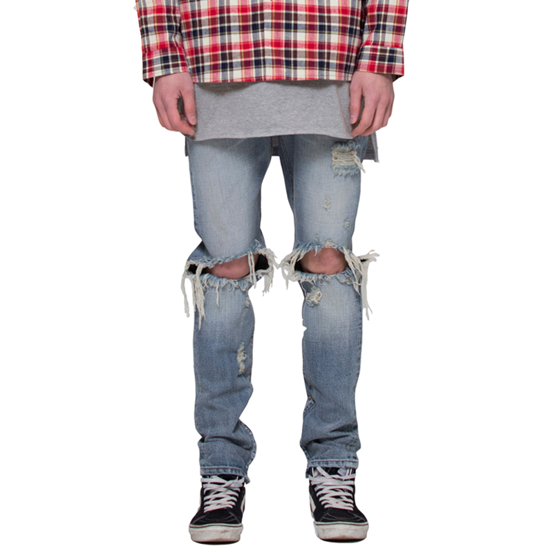 [RCNP] DESTROYED SELVAGE DENIM JEAN