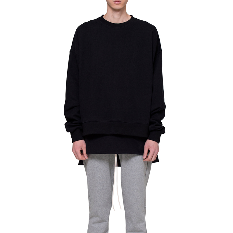 [RCNP] OVERSIZED SWEATSHIRT (BLACK)