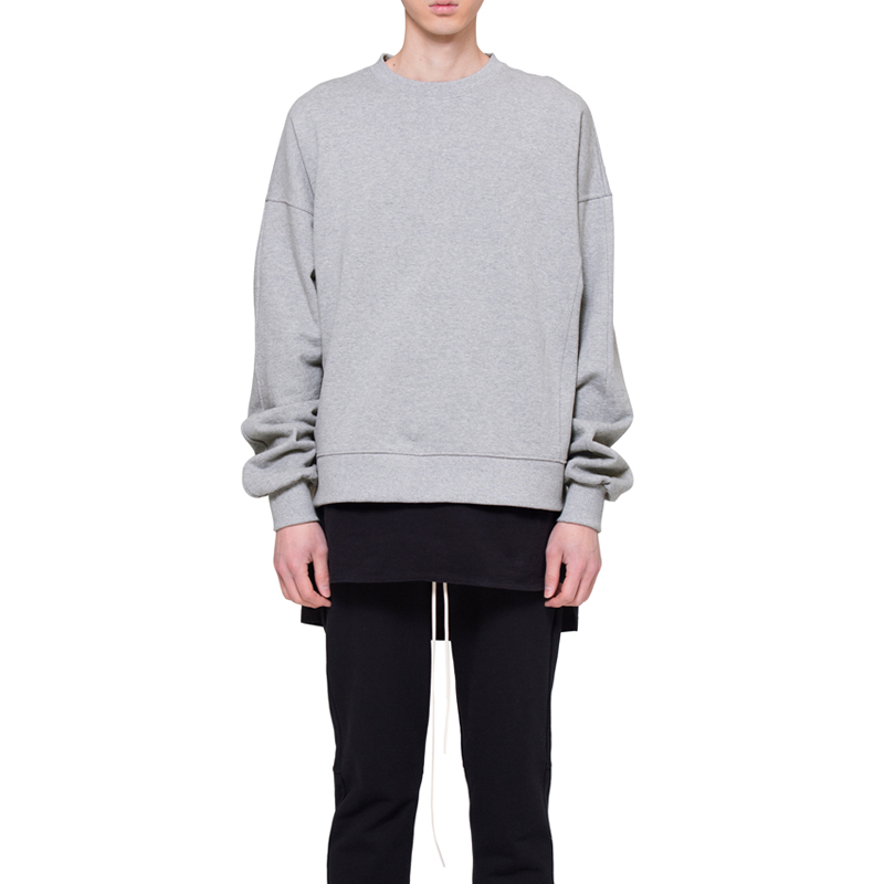 [RCNP] OVERSIZED SWEATSHIRT (GRAY)