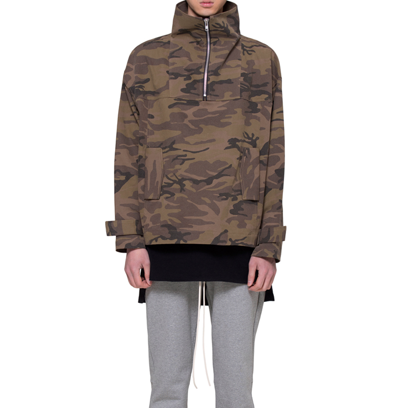 [RCNP] TWILL ANORAK (CAMOUFLAGE)