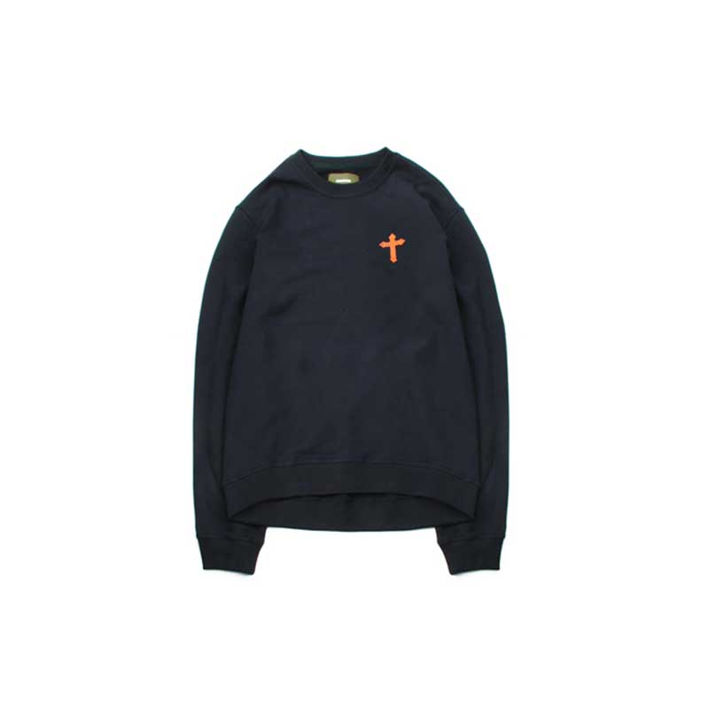 [BEHIND THE SCENES] CROSS CREWNECK NAVY