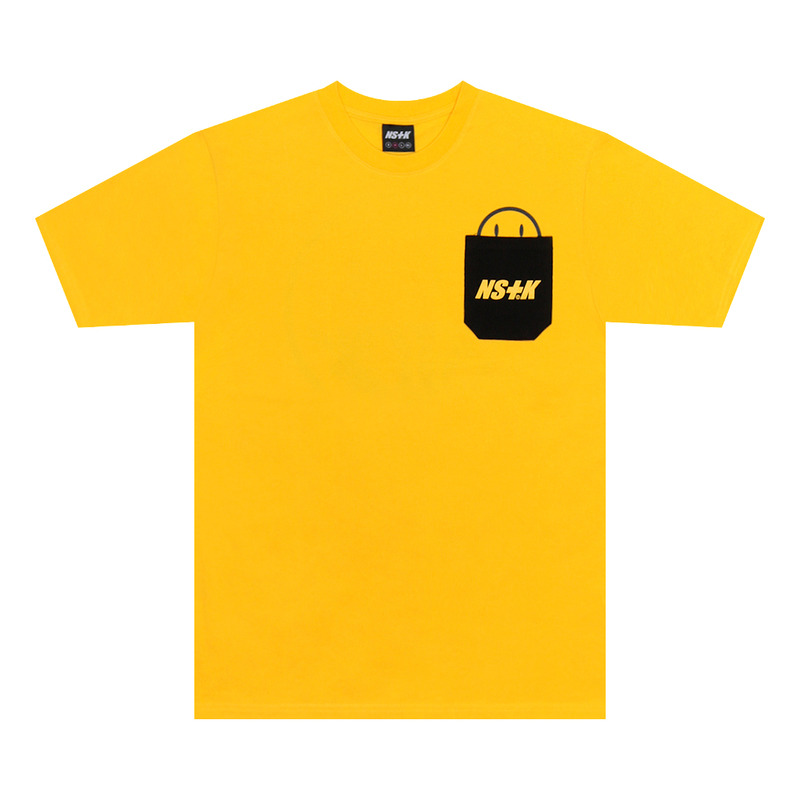 [NSTK] SMILE KICK TEE (YELLOW)
