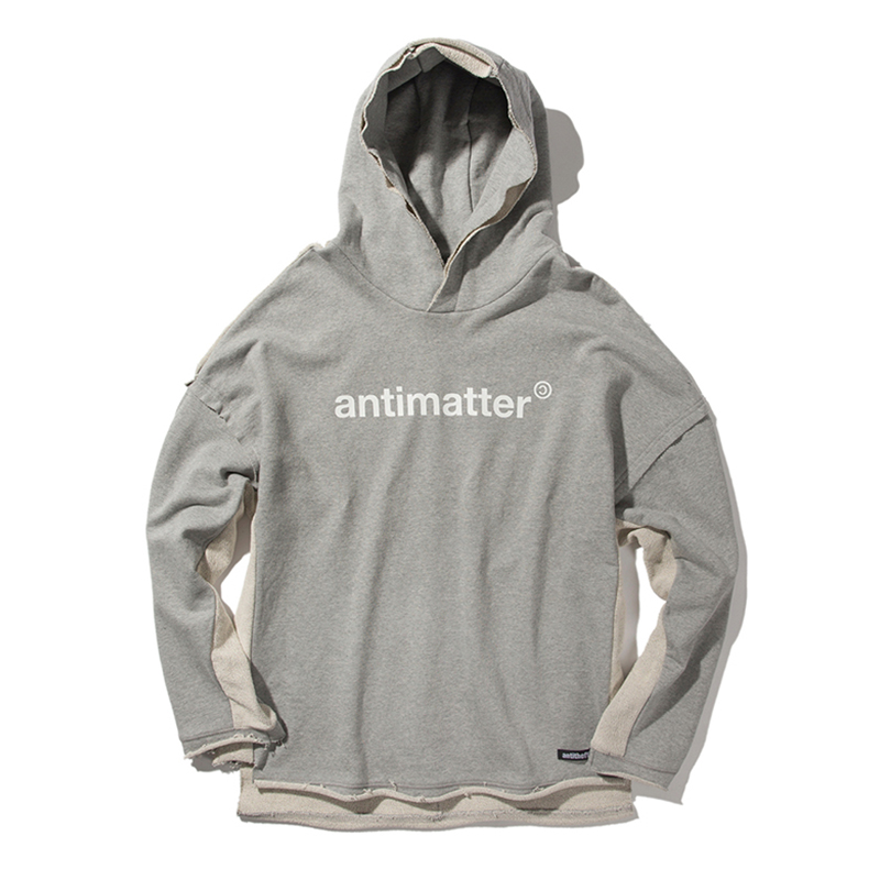 [ANTIMATTER] CUTTING HOODIE (GRAY)