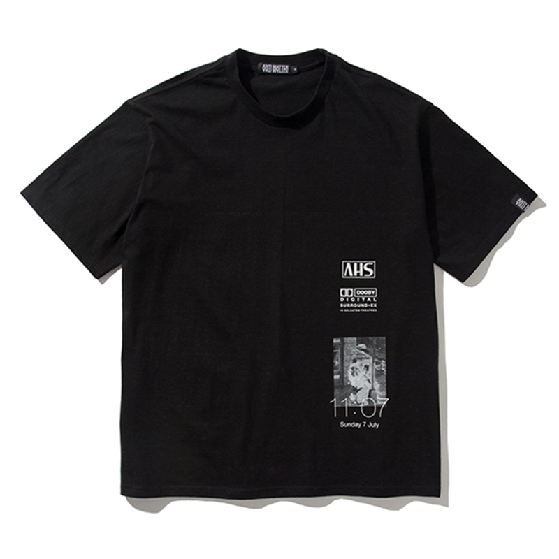 [ANTIMATTER] DOOBY T-SHIRTS (BLACK)