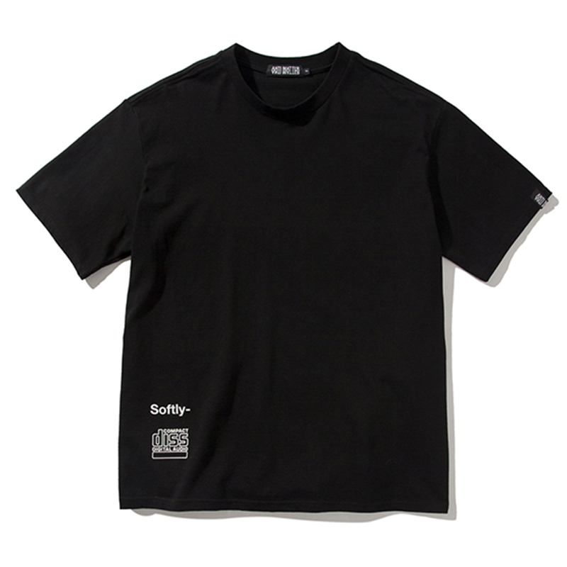 [ANTIMATTER] SOFTLY T-SHIRTS (BLACK)