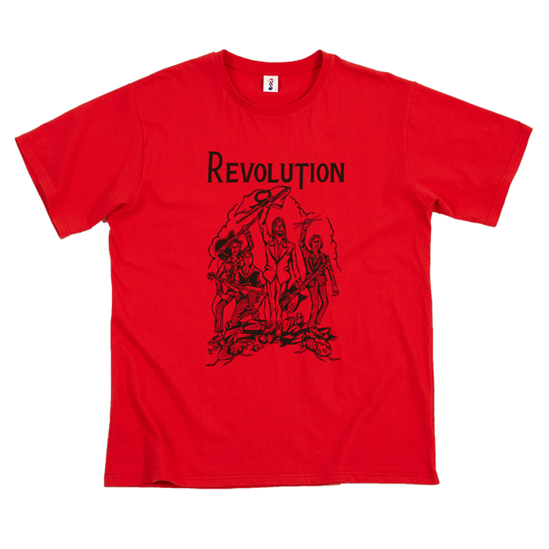 [THANKS FATHER] REVOLUTION T-SHIRT (RED)