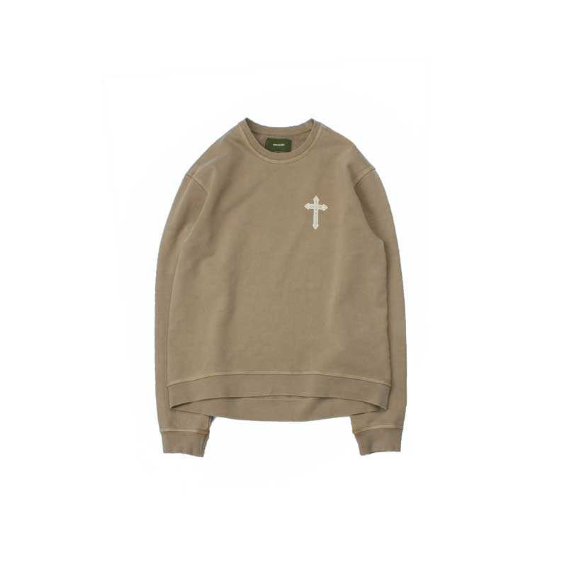 [BEHIND THE SCENES] NEW PISHED CREWNECK KHAKI