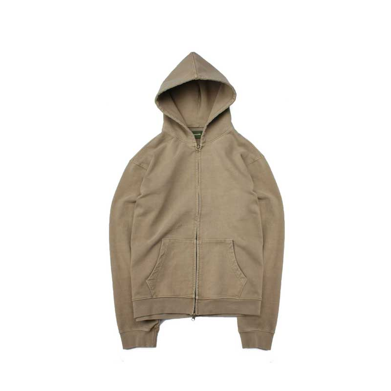 [BEHIND THE SCENES] PISHED HOODIE KHAKI