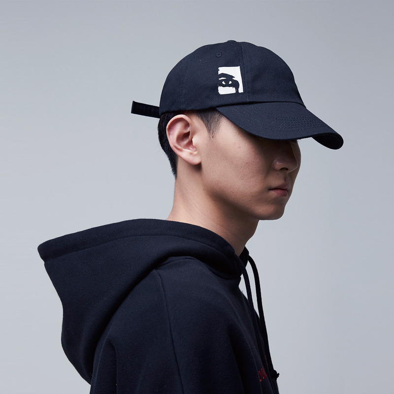 [51PERCENT] EYE - OR CAP (BLACK)