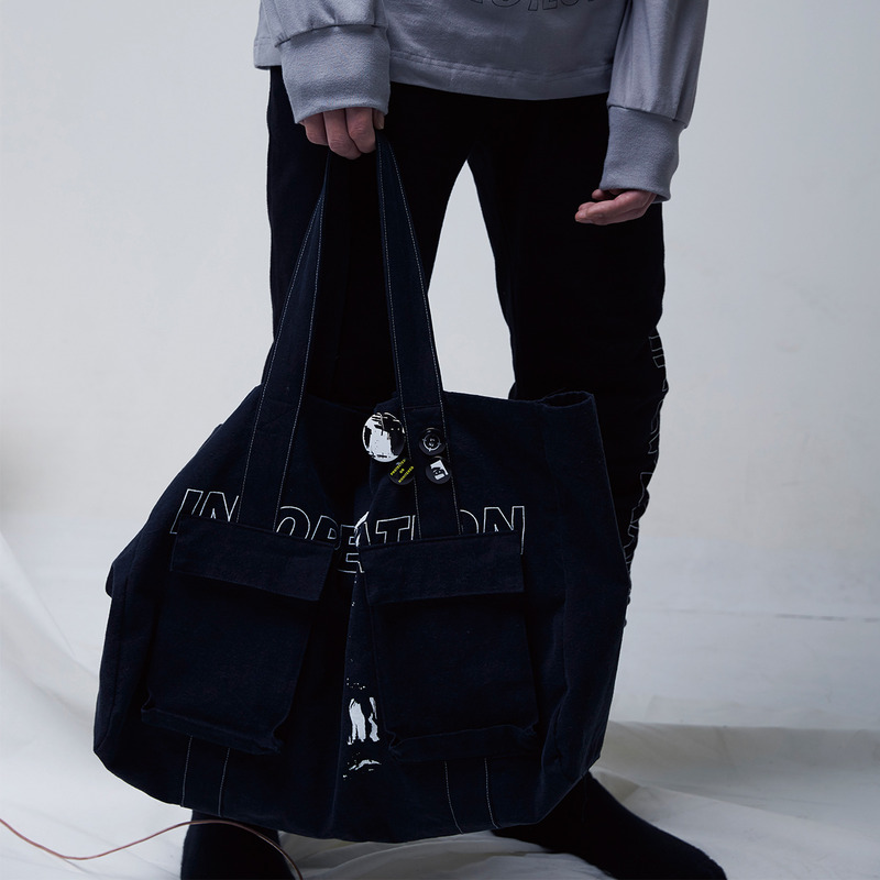 [51PERCENT] IN - OPERATION BAG (BLACK)