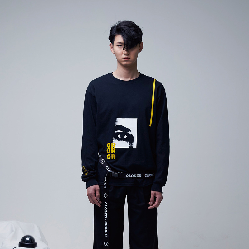 [51PERCENT] EYE - OR LONGSLEEVE (BLACK)