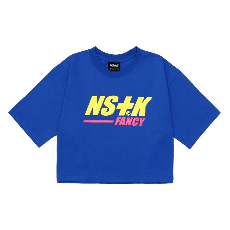 [NSTK] NASTY FANCY CROP TEE (BLUE)