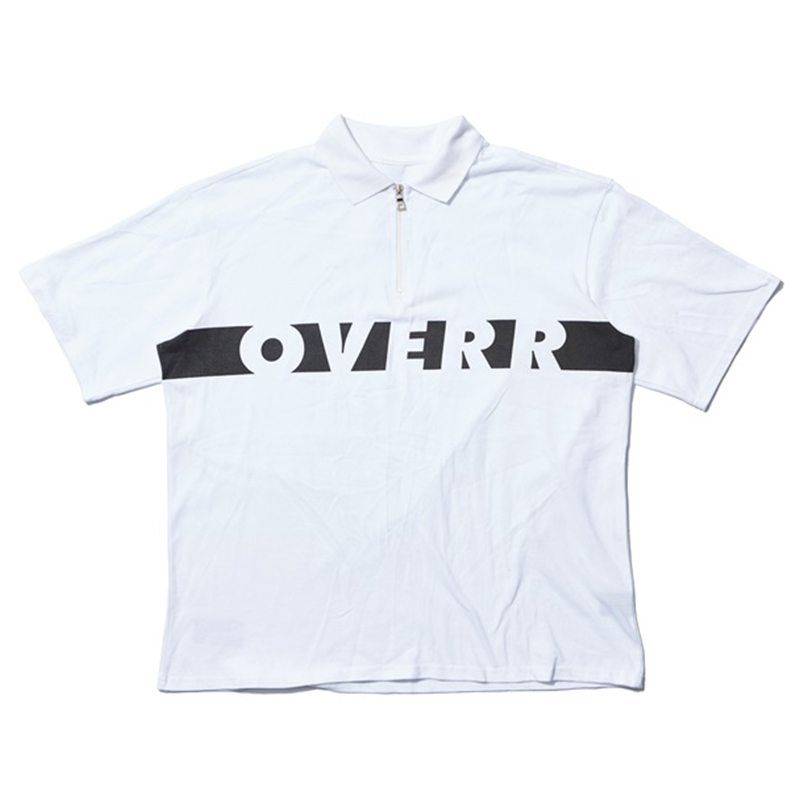 [OVERR] 17SU BASIC WHITE ZIPUP SHIRTS