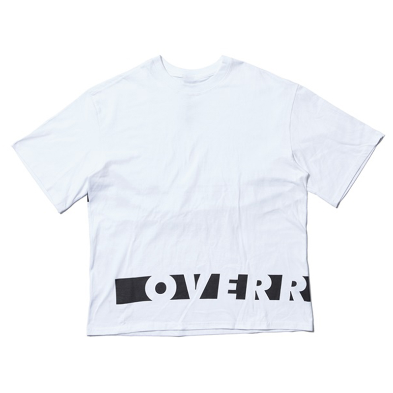 [OVERR] 17SU BASIC WHITE TEE