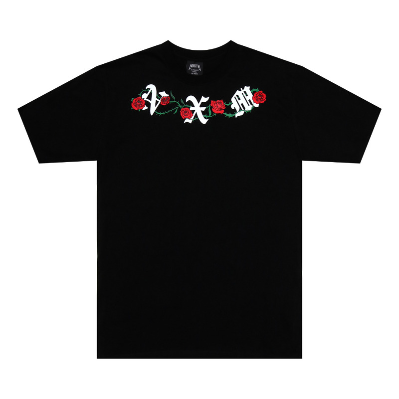 [NYPM] NOISE ROSE TEE (BLK)