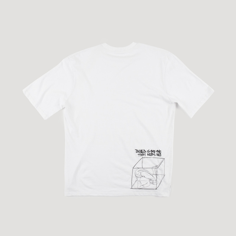 [NOVELLA] REMEMBER NEEDLEWORK T-SHIRT WHITE