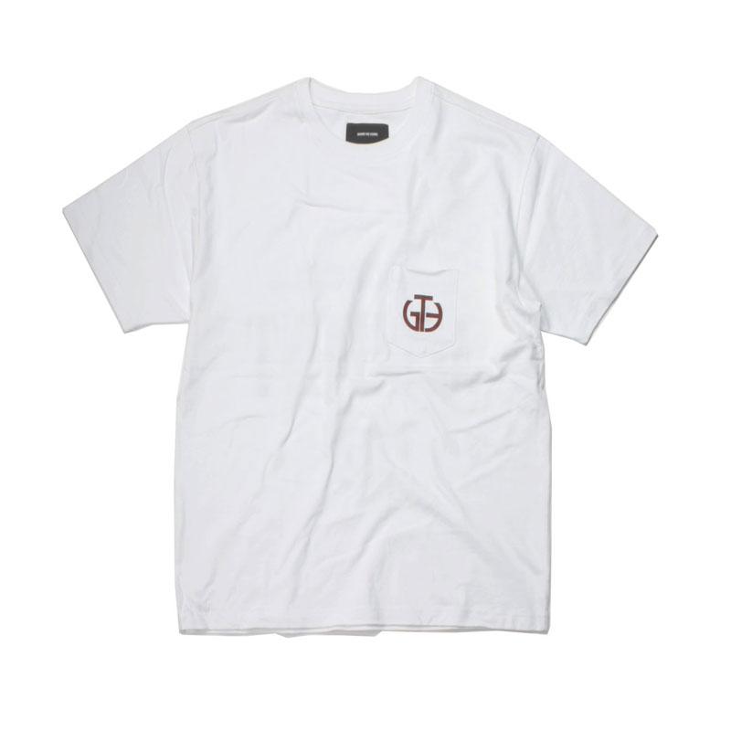 [BEHIND THE SCENES] GTB POCKET LOGO TEE WHITE