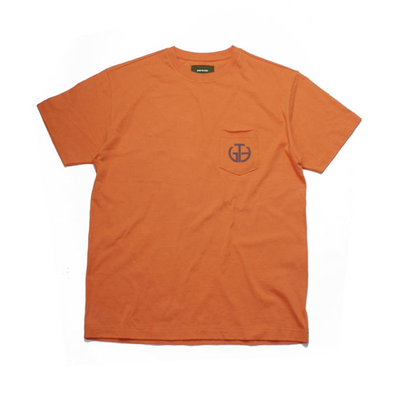 [BEHIND THE SCENES] GTB POCKET LOGO TEE ORANGE