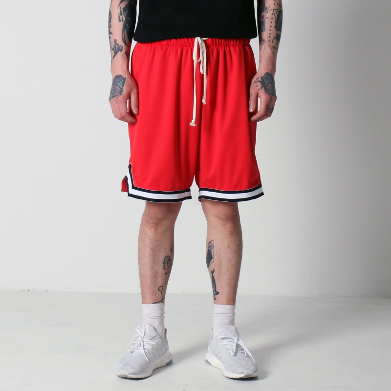[$ SHOP SALE] [EPTM] BASKETBALL SHORTS (RED)