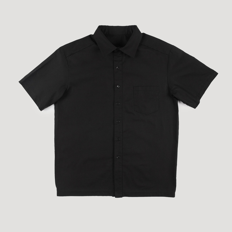 [NOVELLA] CUTTING SHIRT BLACK