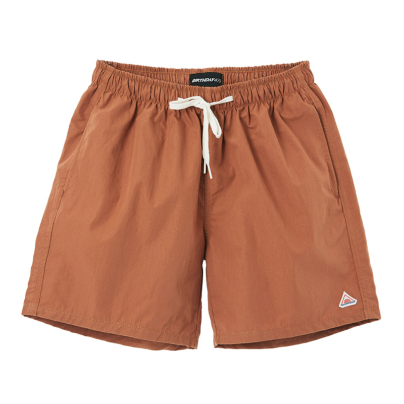 [BIRTHDAY475] 475 BASIC SHORT PANTS (BROWN)