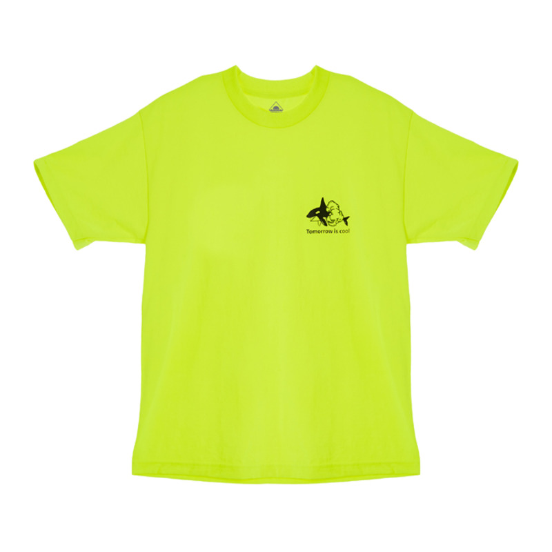 [BIRTHDAY475] 475 LOGO T-SHIRTS (NEON GREEN)