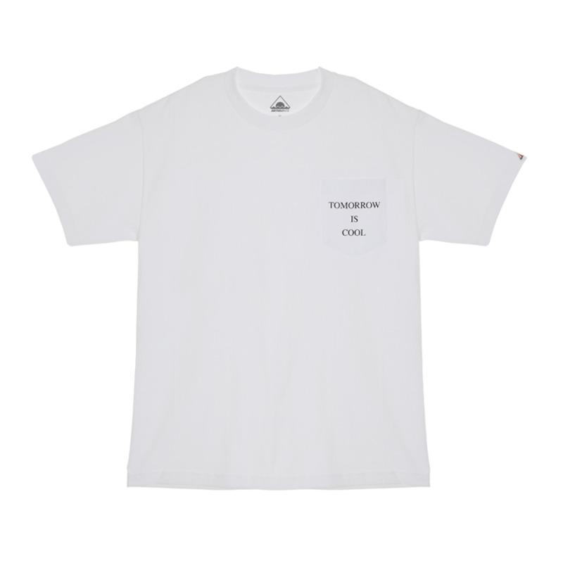[BIRTHDAY475] 475 TOMORROW POCKET TEE (WHITE)