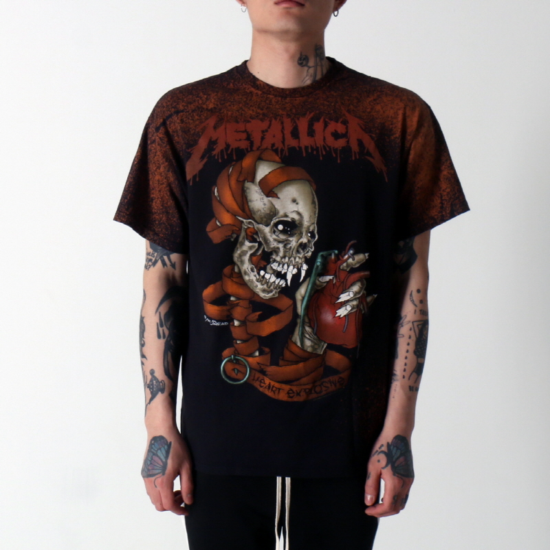 [$ SHOP SALE] [VINTAGE WEAR LA] METALLICA HEART EXPLOSIVE TEE