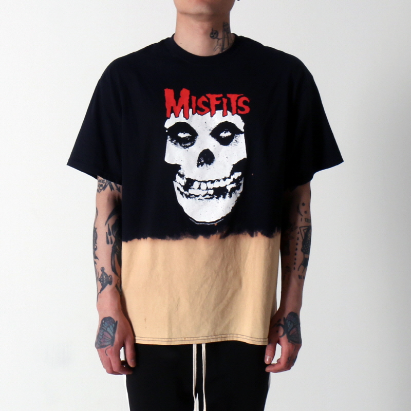 [$ SHOP SALE] [VINTAGE WEAR LA] MISFITS RED LOGO SKULL TEE