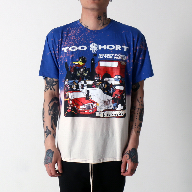 [$ SHOP SALE] [VINTAGE WEAR LA] TOO SHORT SHORT DOG TEE
