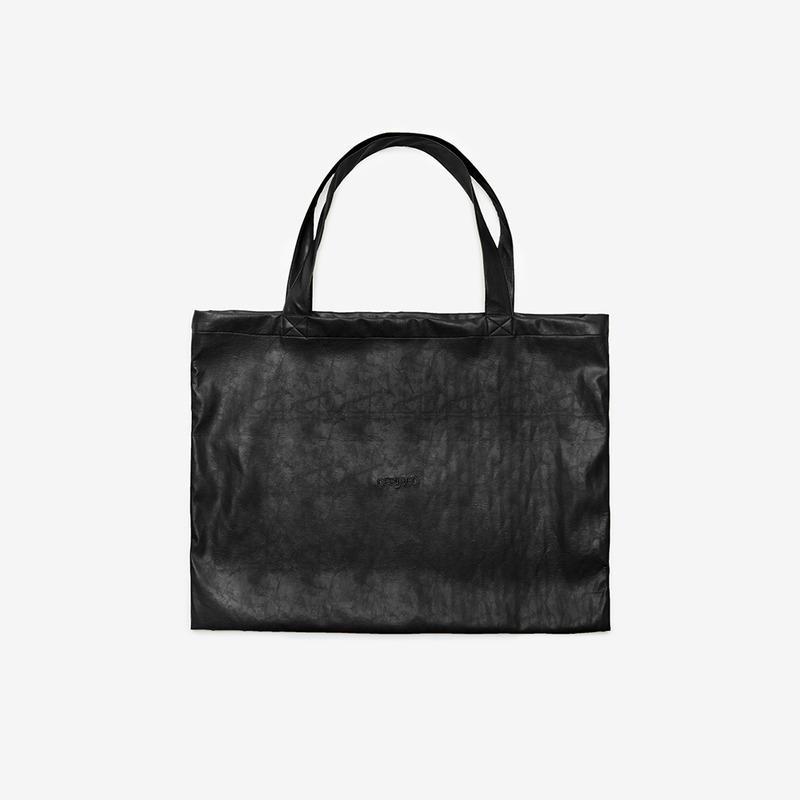 [D.PRIQUE] TOTE BAG / BLACK